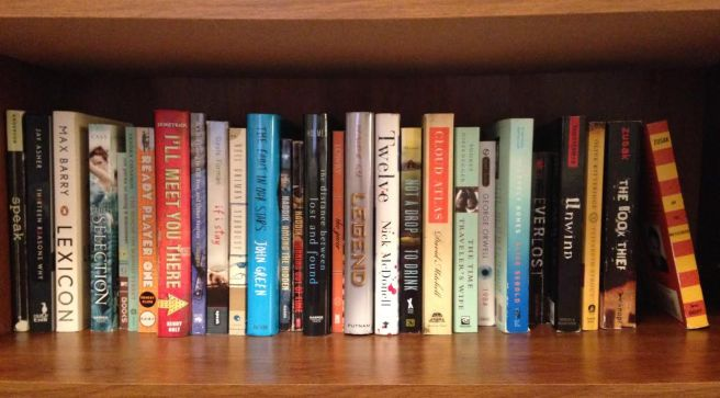 favorites shelf
