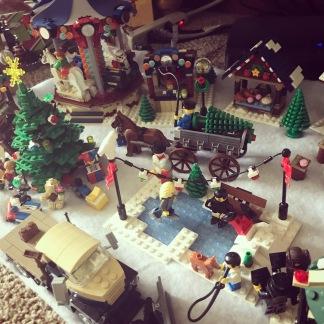 My Lego village