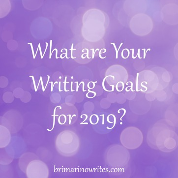 2019 Writing Goals